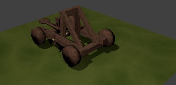 catapult 3d blend