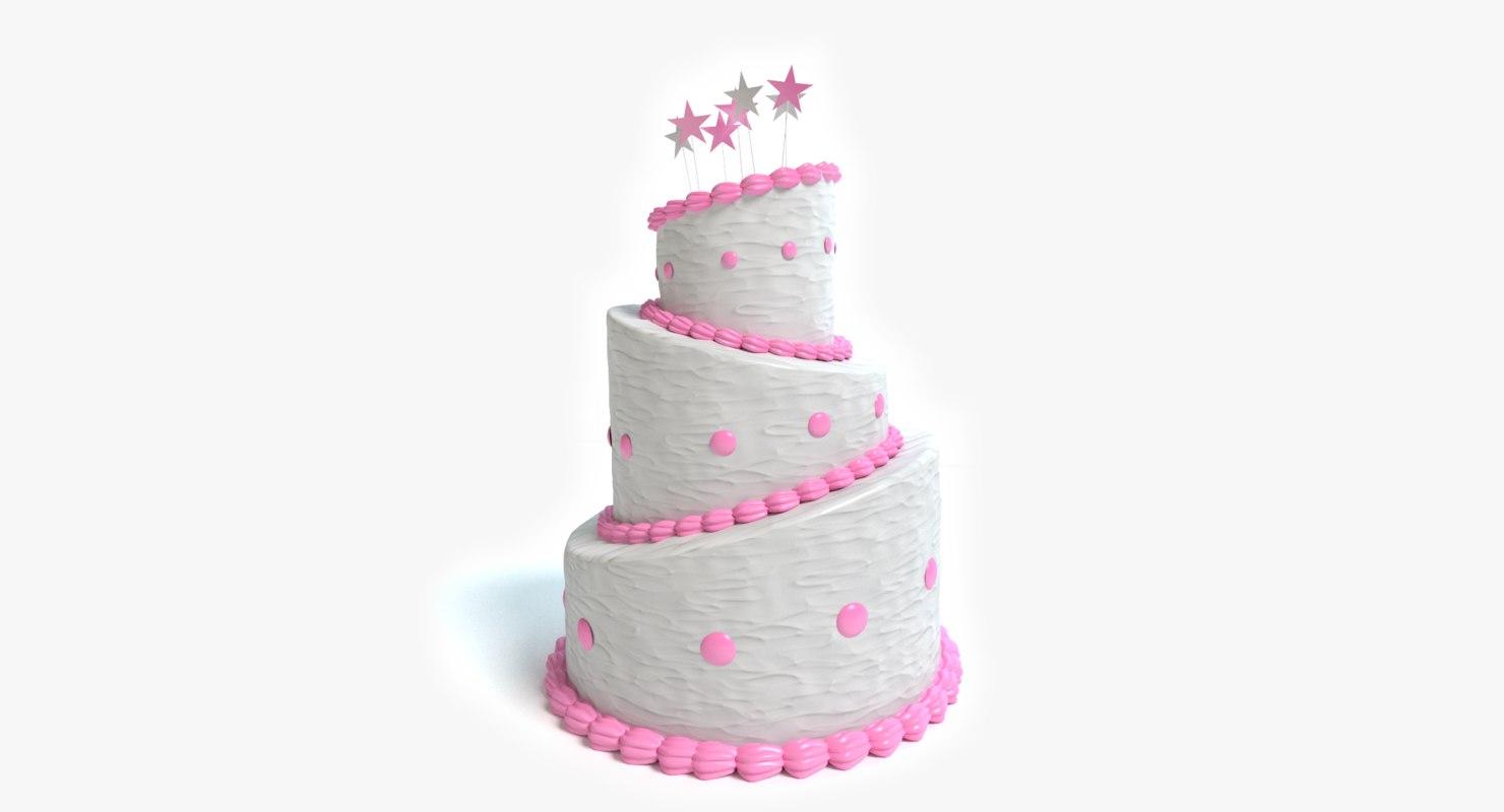 3ds beautiful cake