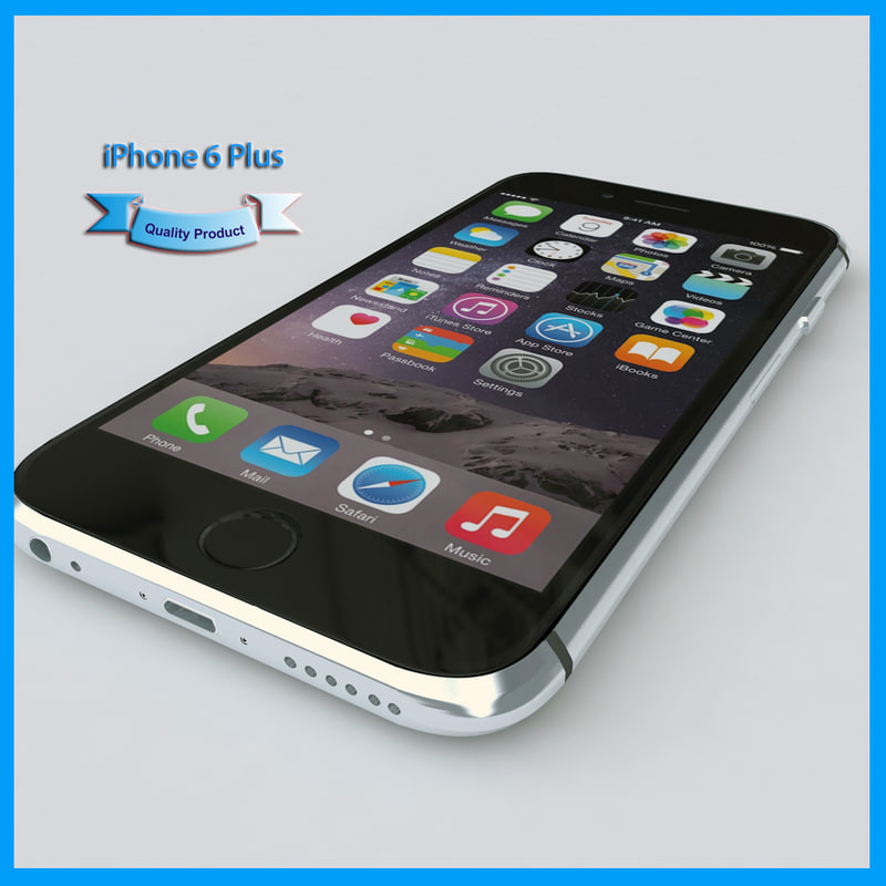 3d model apple iphone 6
