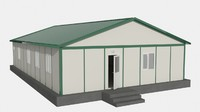 3ds max prefabricated office