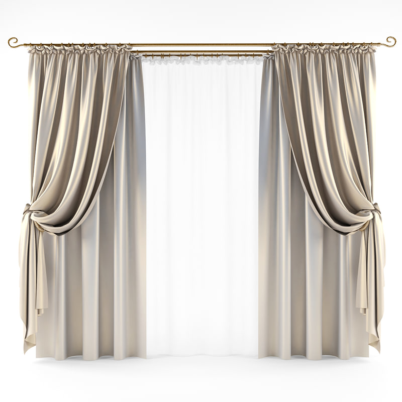 curtain classic obj