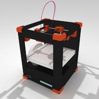 printer 3d max