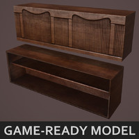 Old Tavern Bar Game Model