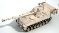3d m109 paladin artillery