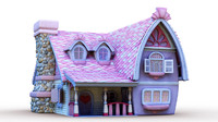 Maya Fairy Tale cartoon house