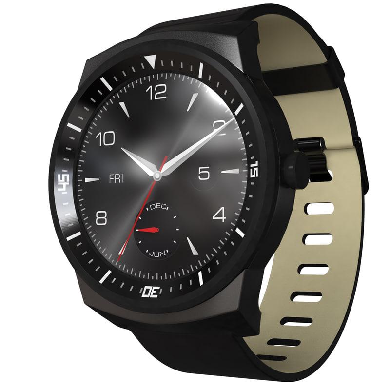 3d smartwatch lg g watch