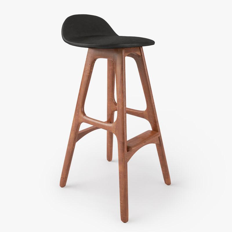 erik buch bar stool obj