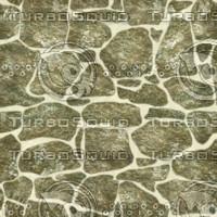 Mossy Cobblestone Seamless Texture