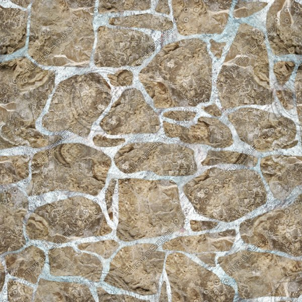 . Rugged Cobblestone Seamless Texture