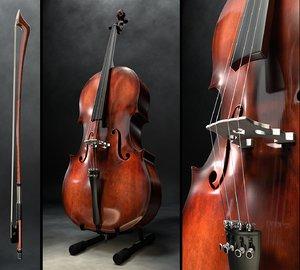 3d model cello bow