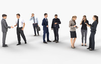 8X BUSINESSPEOPLE