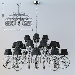 baga 1180 lamps 3d model