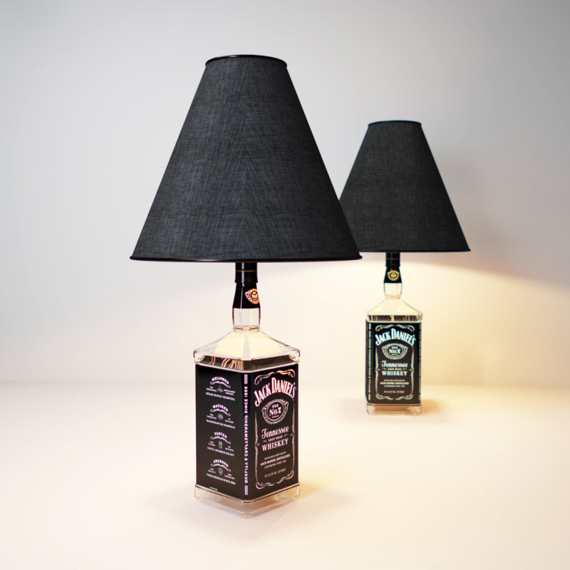 3d jack-daniel s-lamp