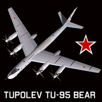 3d model tupolev bear