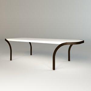 temptation table se london 3d max