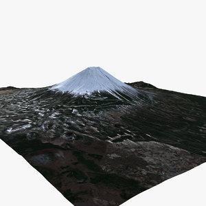 mount fuji landscape 20 max