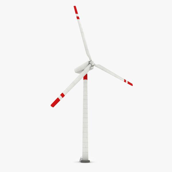 ready wind generator 3d model