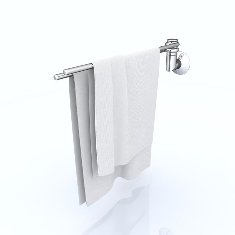 3d towel rail