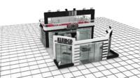maya kleidco exhibition stand design