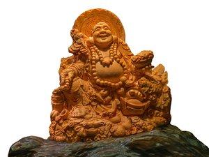 sculpture budda taiwan 3d model