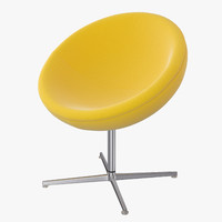c1 armchair vitra 3d model