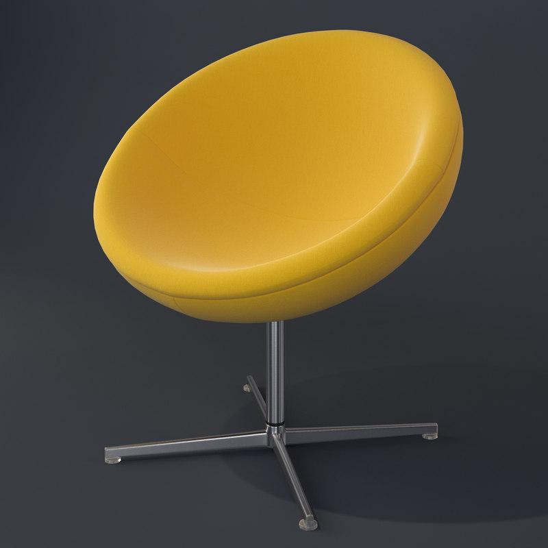 c1 armchair vitra 3d model