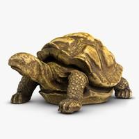 tortule sculpture 3d max