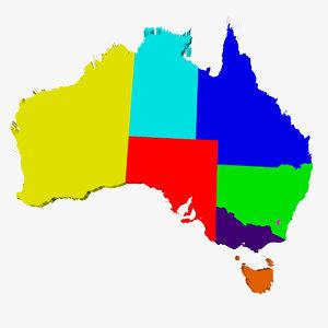 3ds states australia