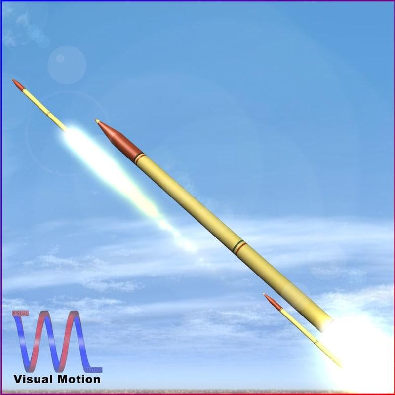 3dsmax short artillery iranian fadjr-3