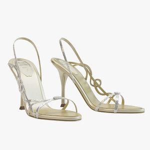 max gold sandals caovilla