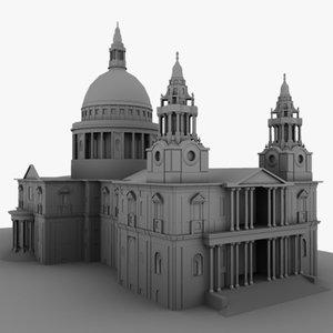 3d palace model