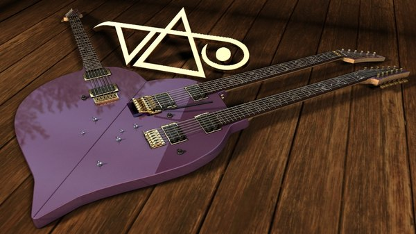 steve vai heart shape 3d model