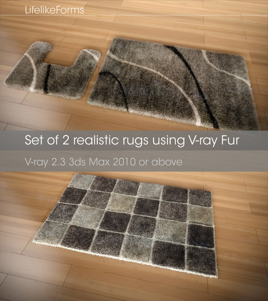 free max mode set rugs v-ray 2