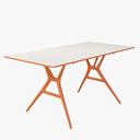 folding table 3D models