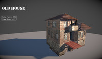 old macedonian house 3d model