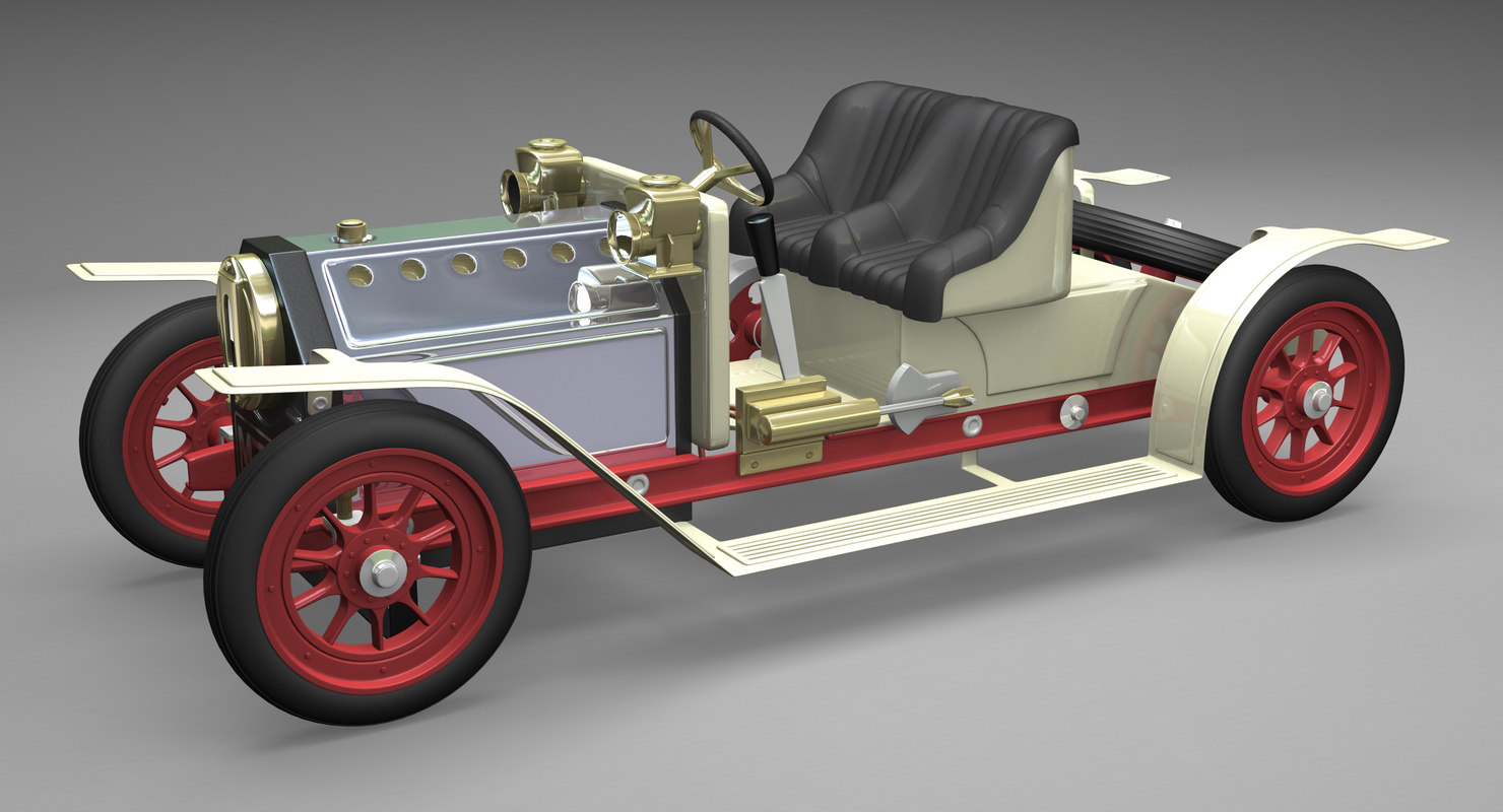 mamod steam 3d model