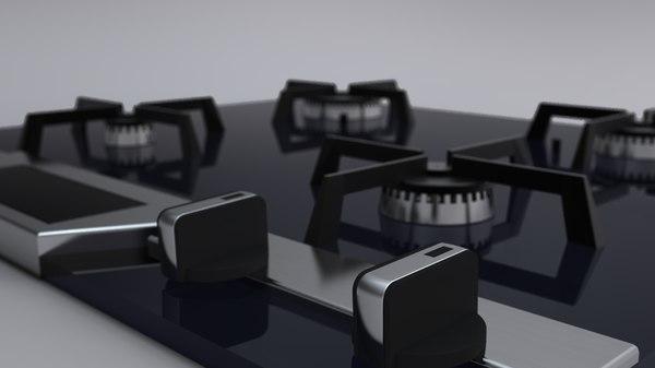 cooktop design 3ds