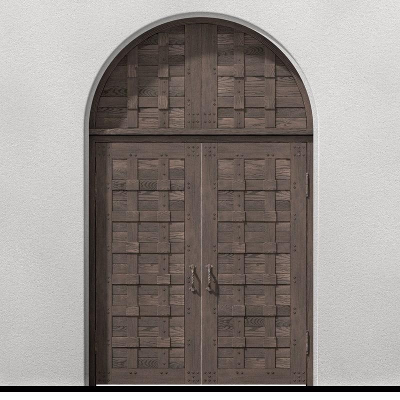 Old Castle Double Door & old castle double wood door model Pezcame.Com