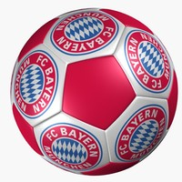 soccer ball bayern munich 3d 3ds