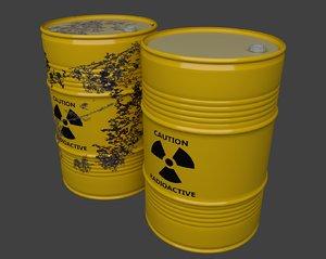 cinema4d blender rad barrel