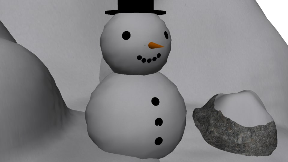 package snow 3d fbx