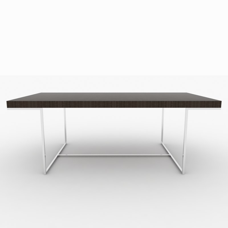 3d model athos dining table b