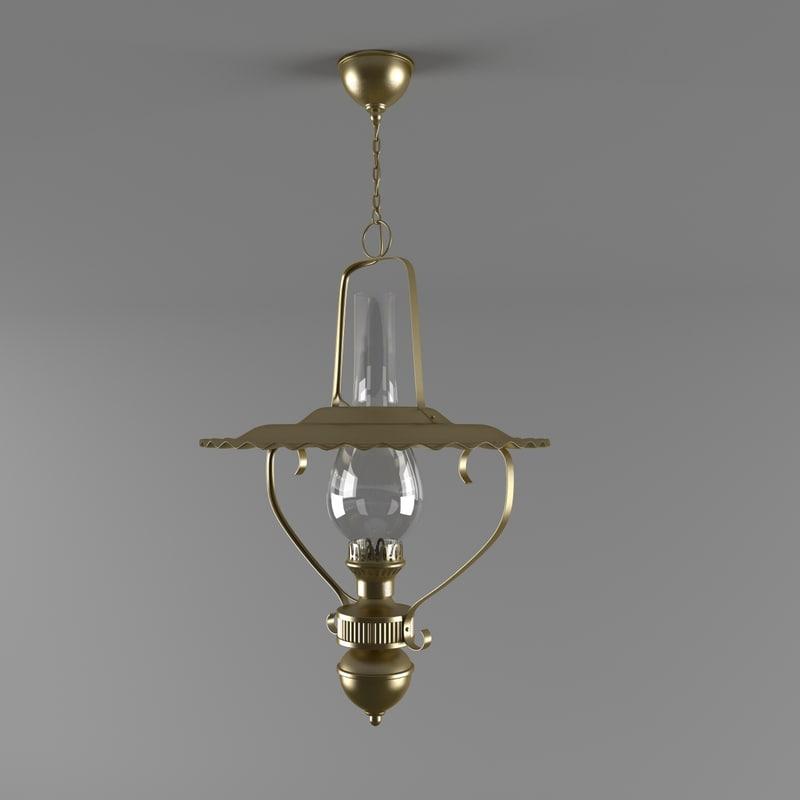 lamp 3d obj