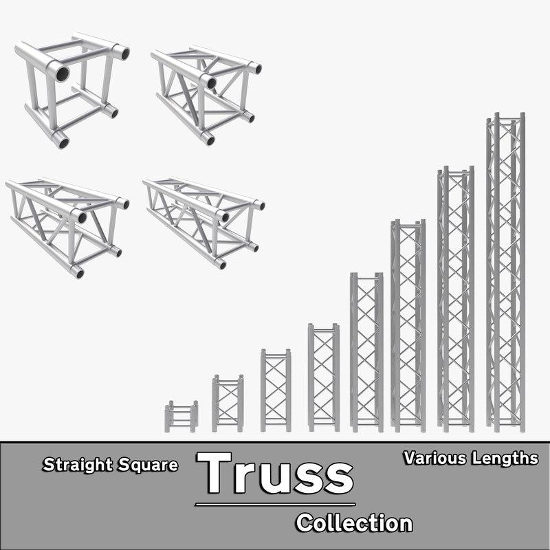 Truss 3D Models for Download | TurboSquid