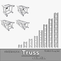 Straight Truss Collection (Square)