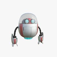 sci fi drone 3d max