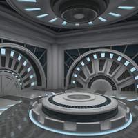 Futuristic Interior 06