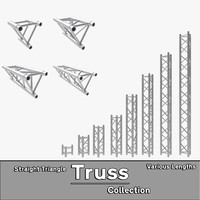 Straight Truss Collection (Triangle)