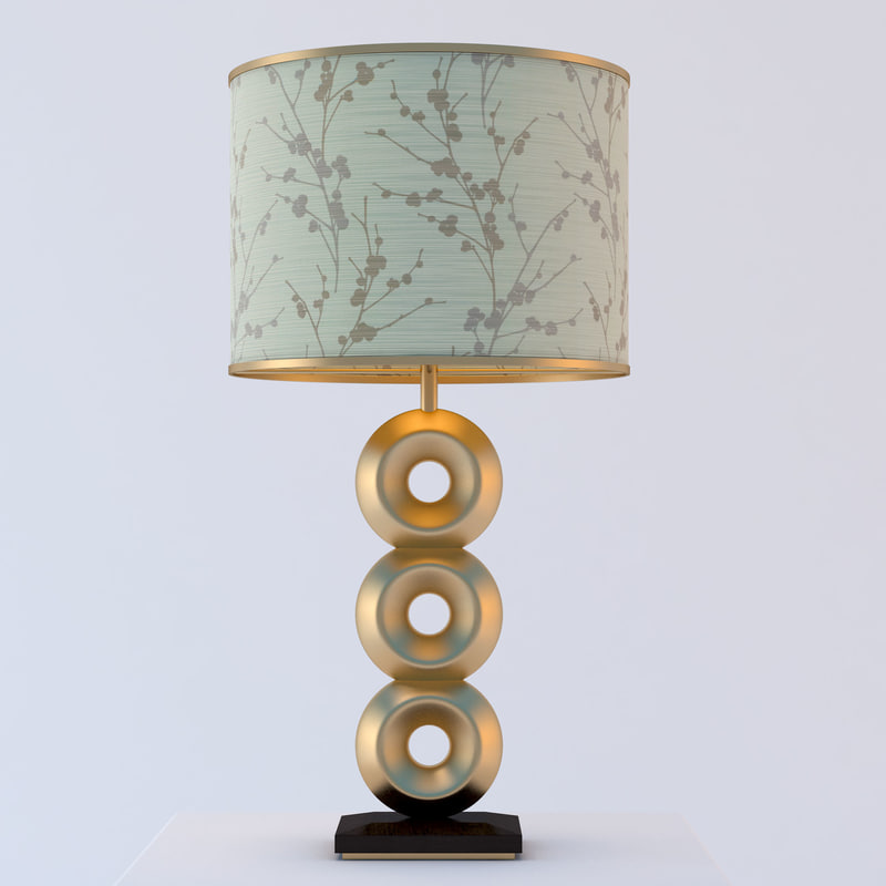 design table lamp 3d model