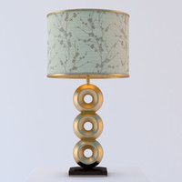design table lamp 3d model